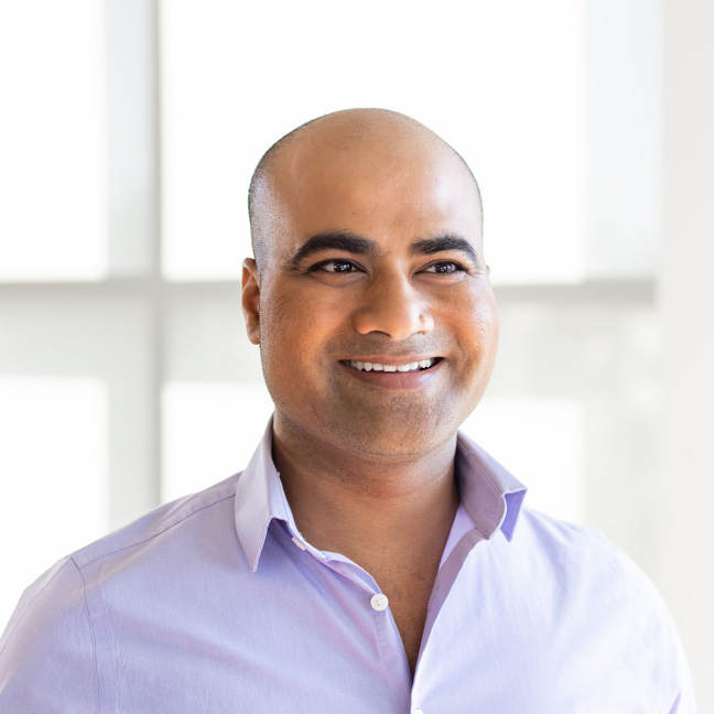 Personal AI CEO and founder, Suman Kanuganti
