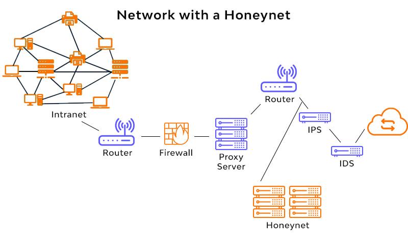 Network of Honeypots