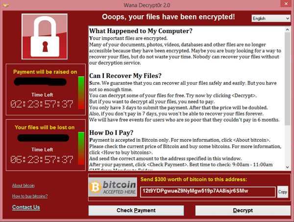 WannaCry example