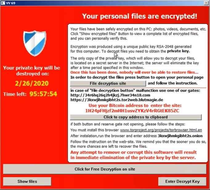 TeslaCrypt example