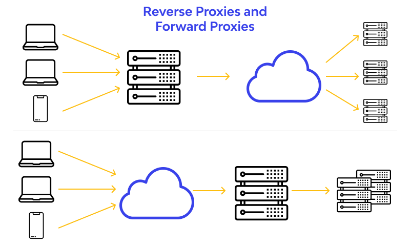 Reverse Proxies vs Forward Proxies