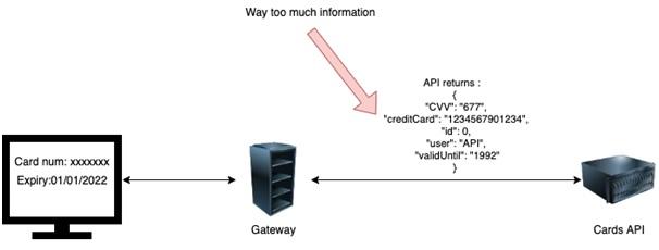 Example of Excessive Data Exposure