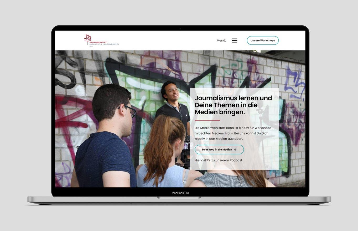 Webdesign Case Study eines Magazins