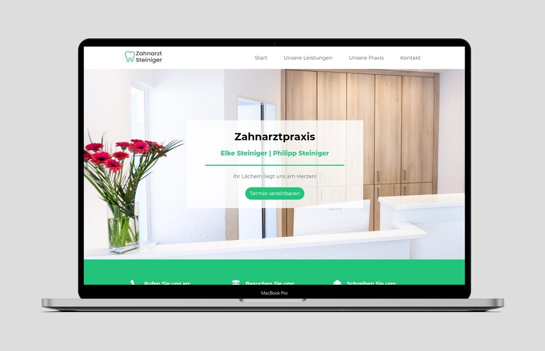 Webdesign Case Zahnarzt