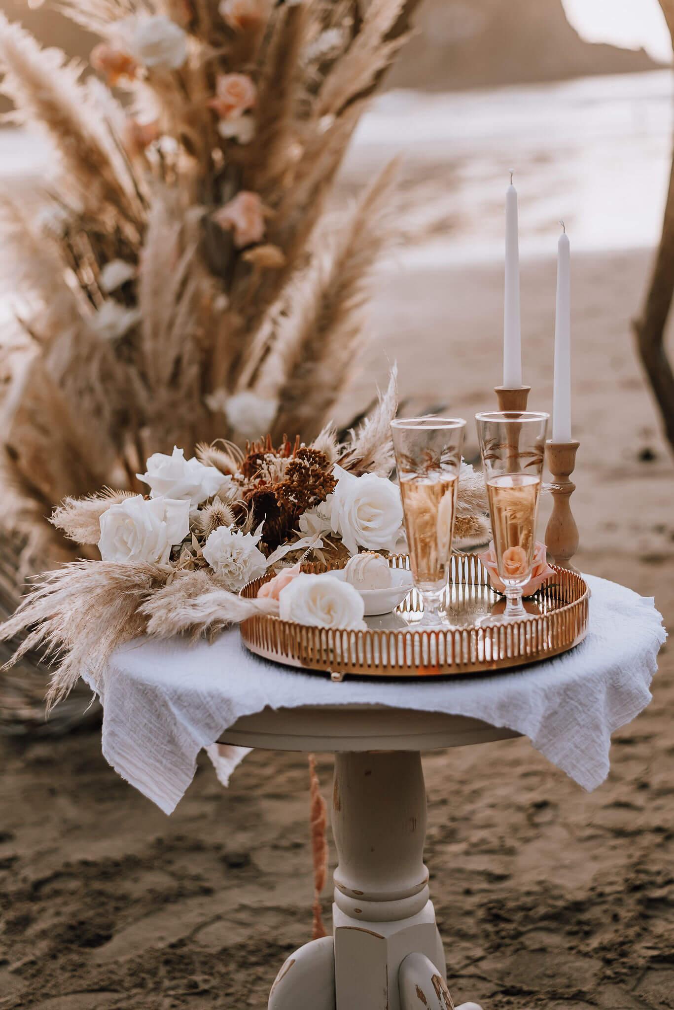 Decorative drink setup