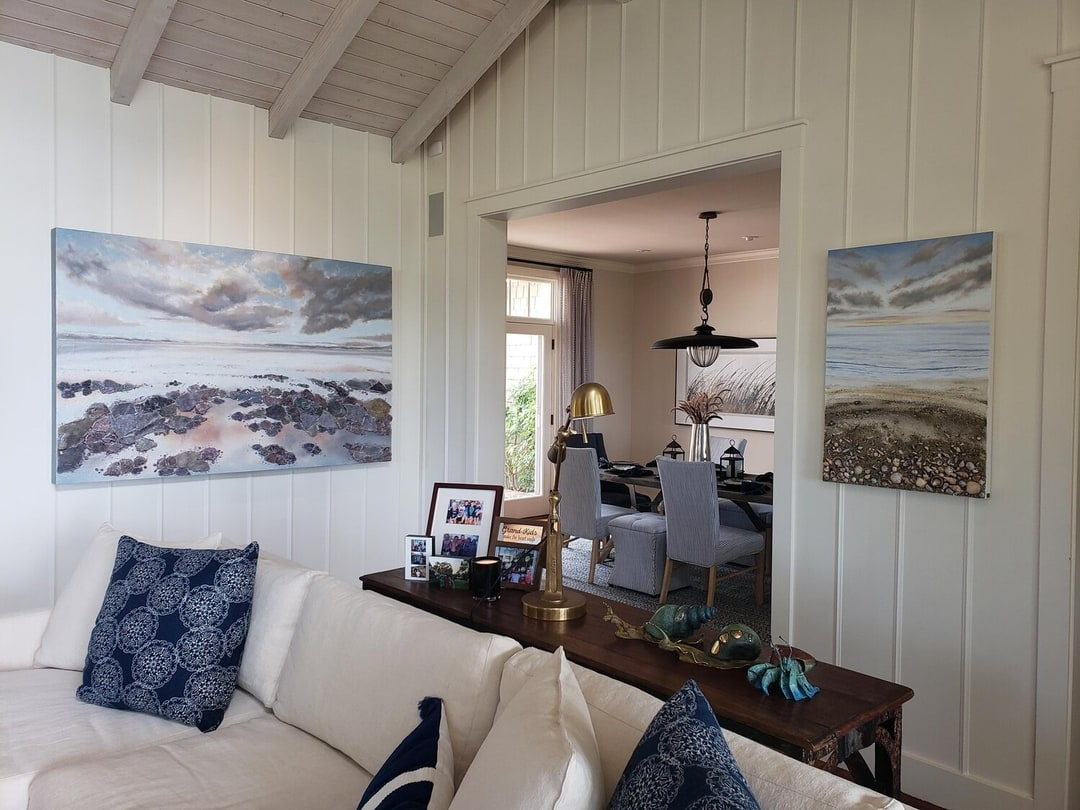 2 Paintings in Clients Home