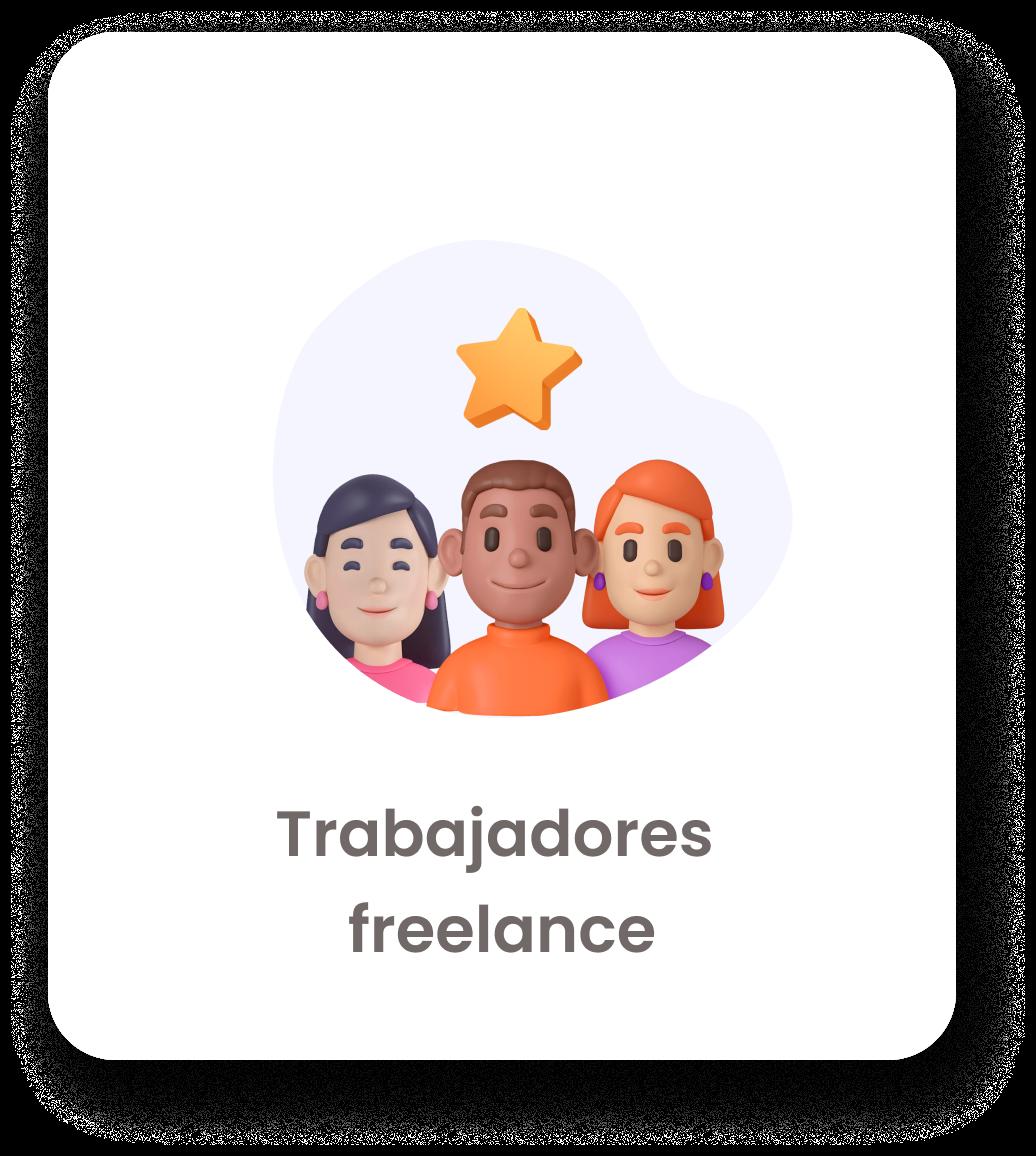 trabajadores freelance