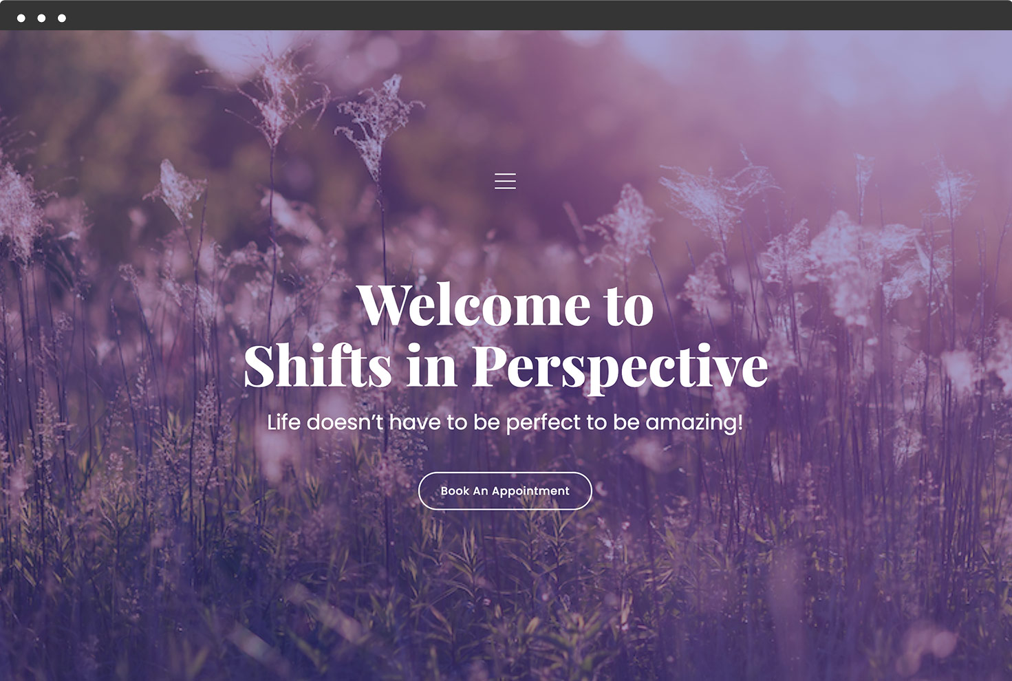 Image of Shifts in Perspective's Website