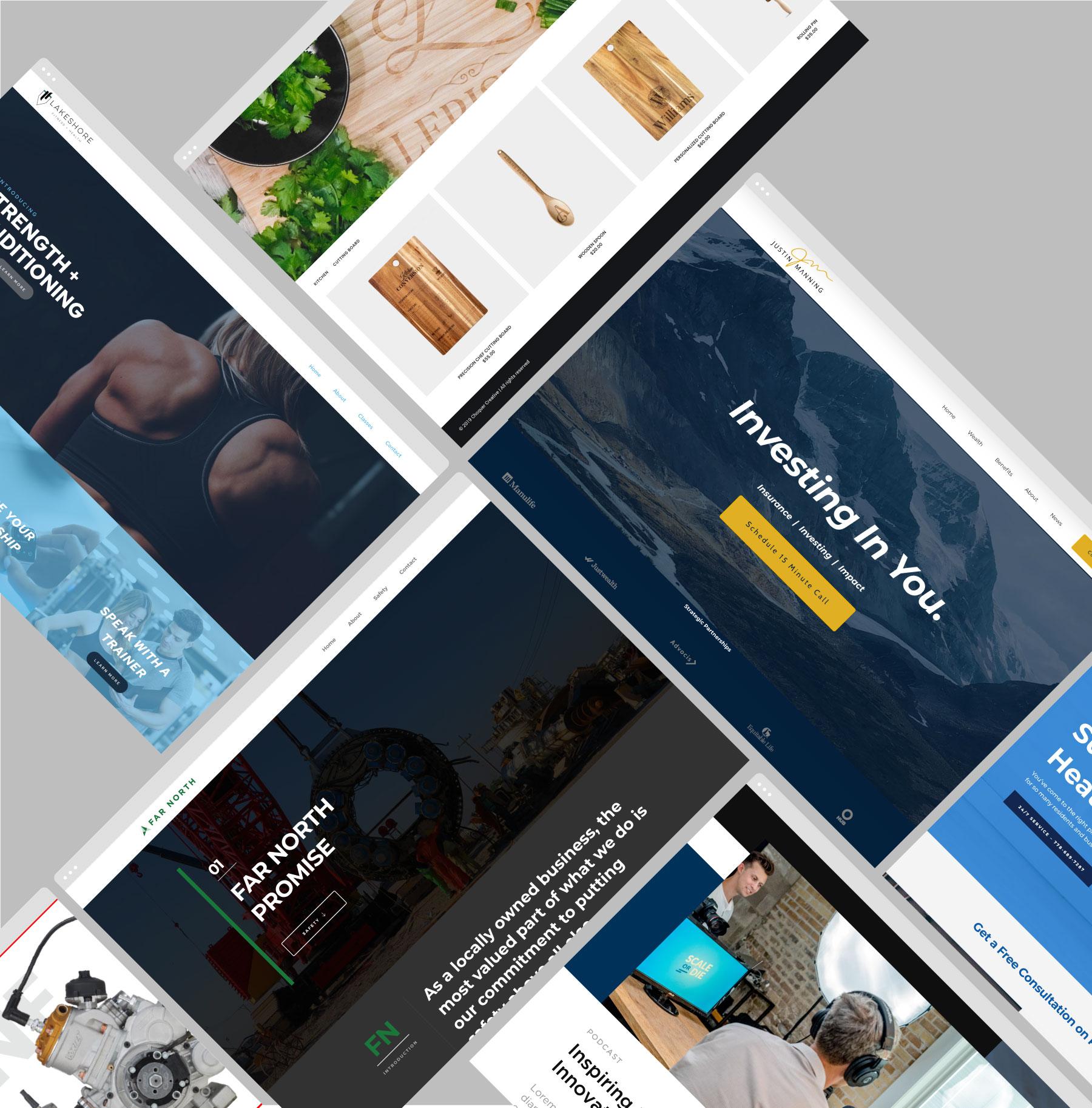 Wordpress Website Designers Surrey BC, Wix Alternative Websites