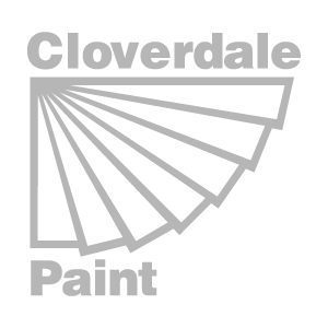 Cloverdale Paint Grey Logo