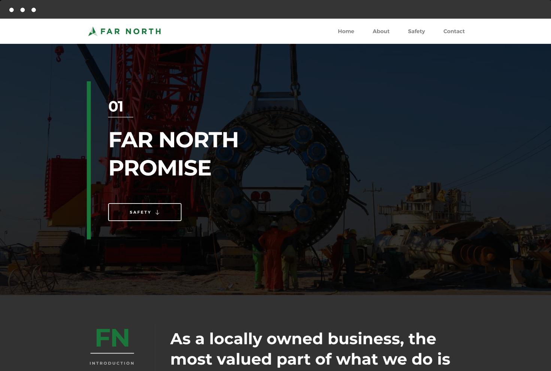 Far North Website Slide