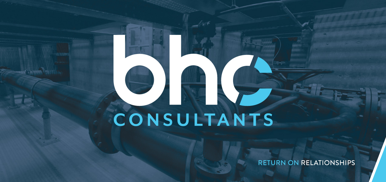 BHC consultants background image logo blue