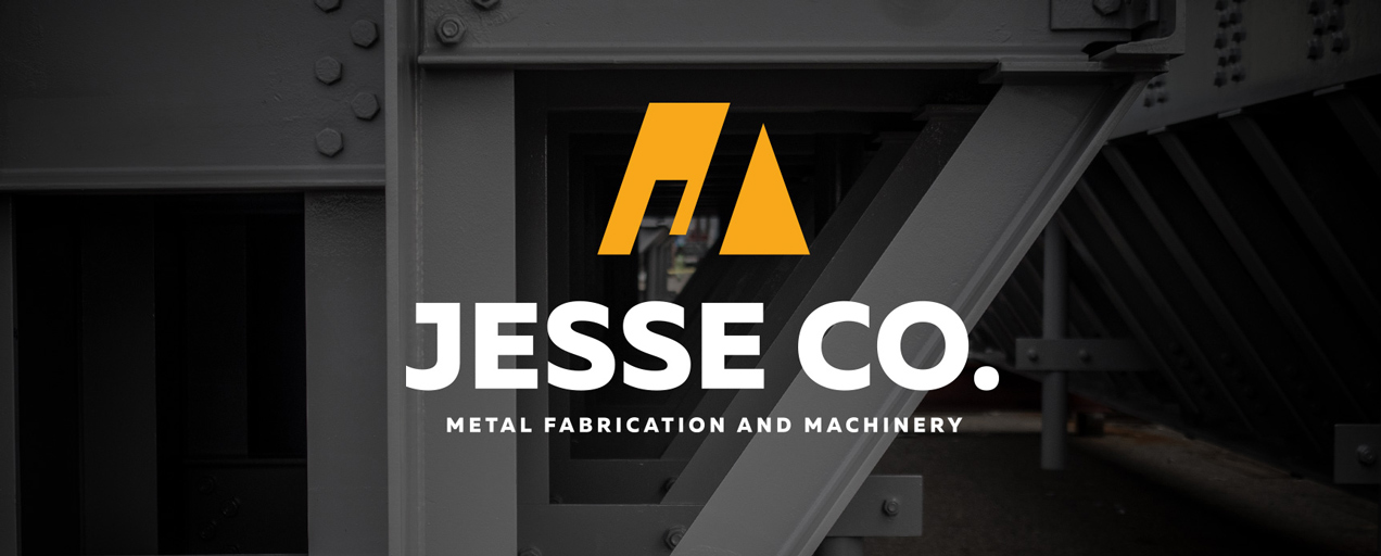 jesse co metal fabrication and machinery branding