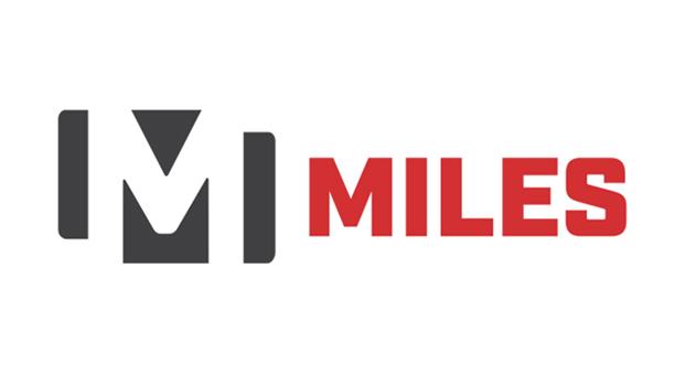 miles sand and gravel logo