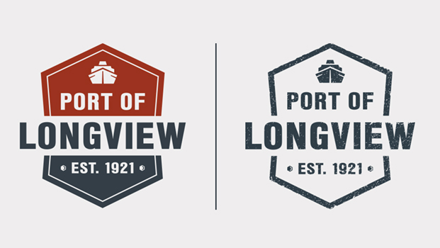 Port of Longview logo