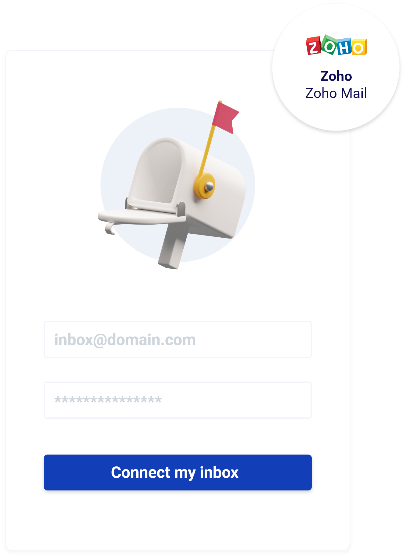 Warm-up your Zoho inbox-cold email in UK
