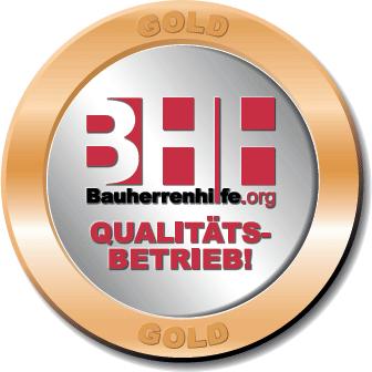 Qualitätssiegel in Gold