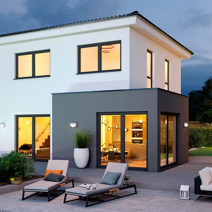 Das SCALA Family 126W mit Wohnzimmer-Anbau