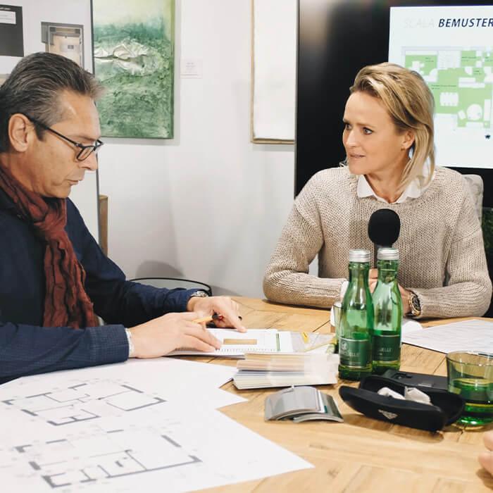 Alexandra Meissnitzer befragt zur Planung von SCALA Häusern