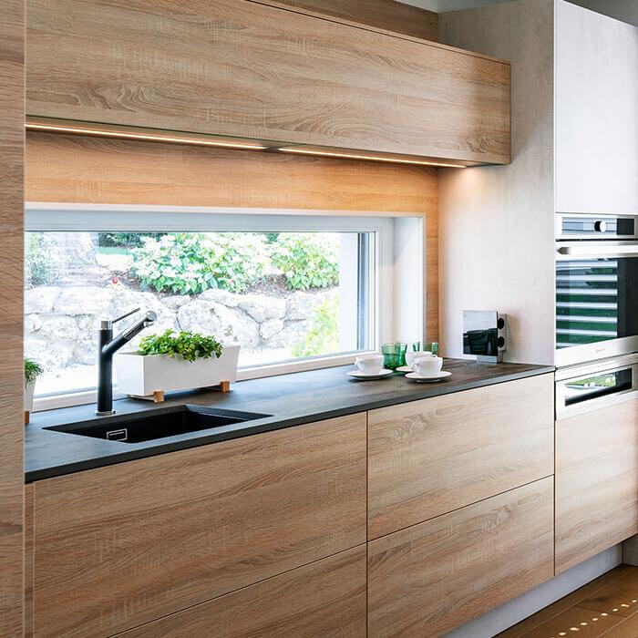 Eine Küche im SCALA Fertighaus