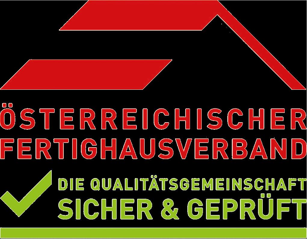 Gütesiegel des Österreichischen Fertighausverbandes