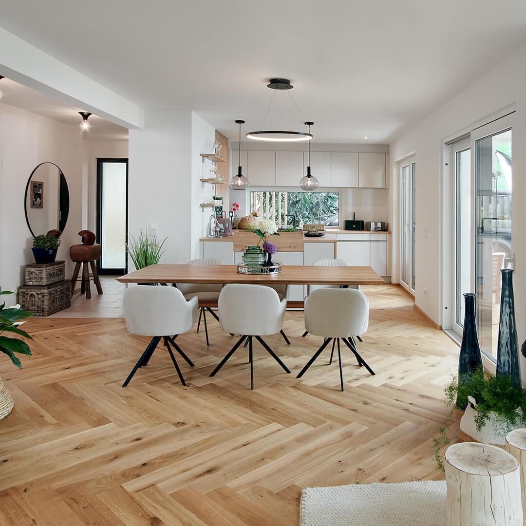 Moderne Wohnkonzepte erweitern das Raumgefühl