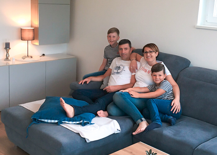 Michael, Silvia & Familie