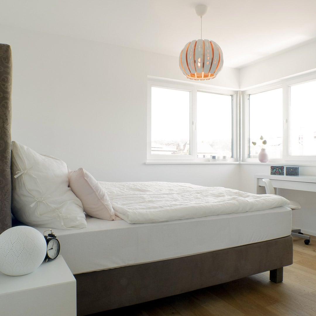 Tolle Aussicht: In deinem Schlafzimmer mit viel natürlichem Licht