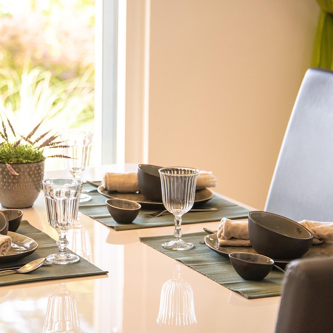 Wohlfühl-Atmosphäre in der Wohnküche