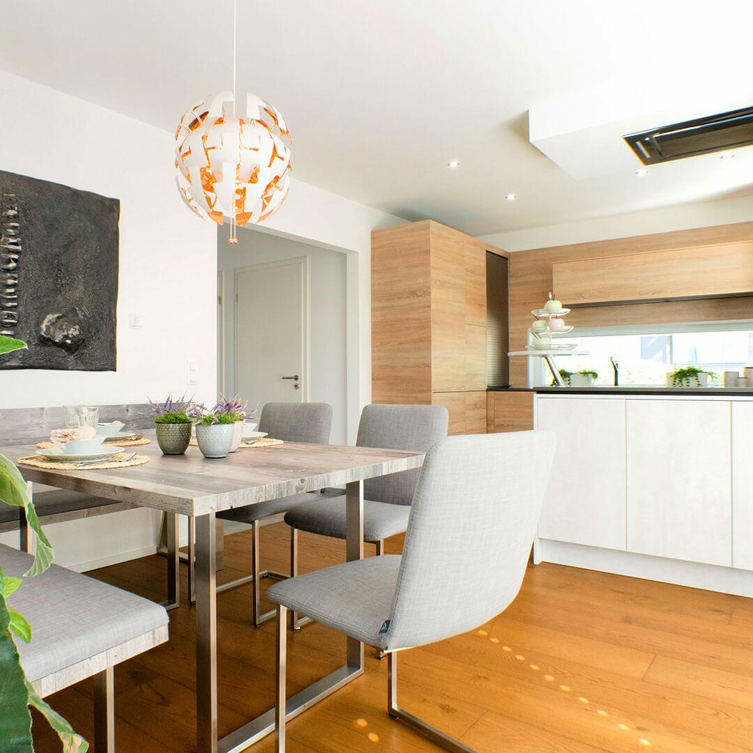 Wohlfühlatmoshpäre in der Wohnküche
