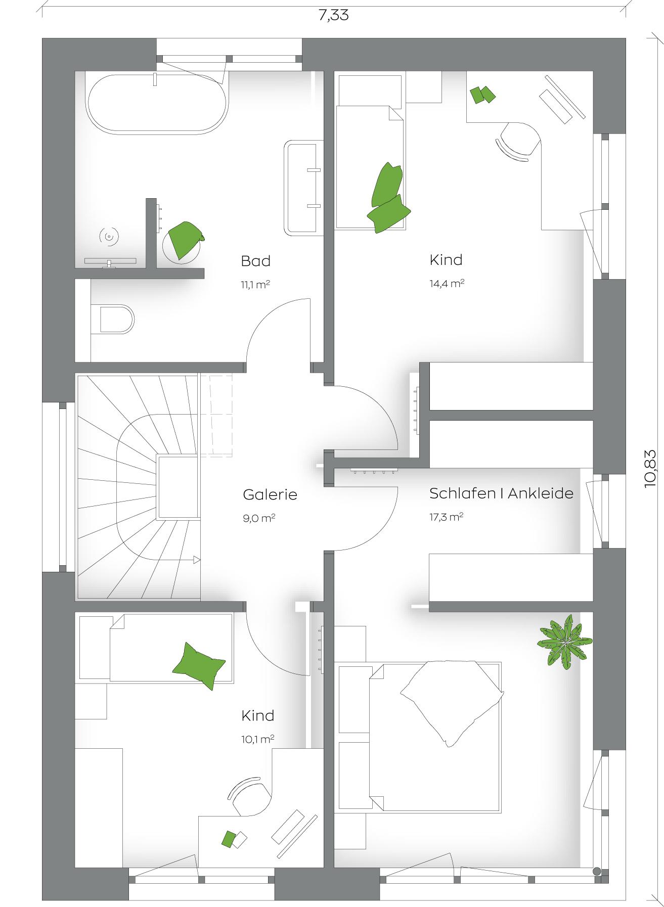 SCALAFamily 123S Obergeschoss