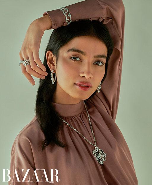 Her Story jewellery in Harper's Bazaar India photo spread