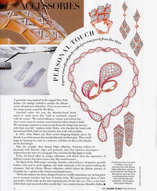 Her Story in Harper's Bazaar India