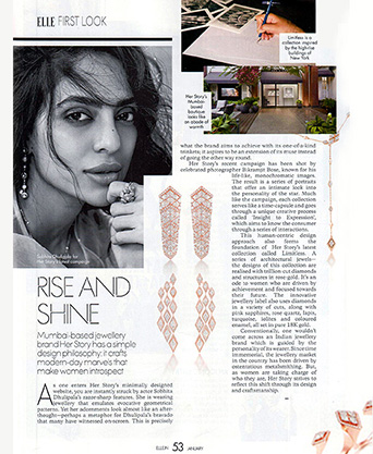 Her Story Limitless jewellery in Elle India