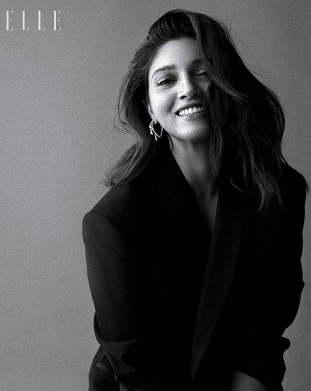 Bhumi Pednekar wearing Her Story Whisper in the Wind earrings for Elle India
