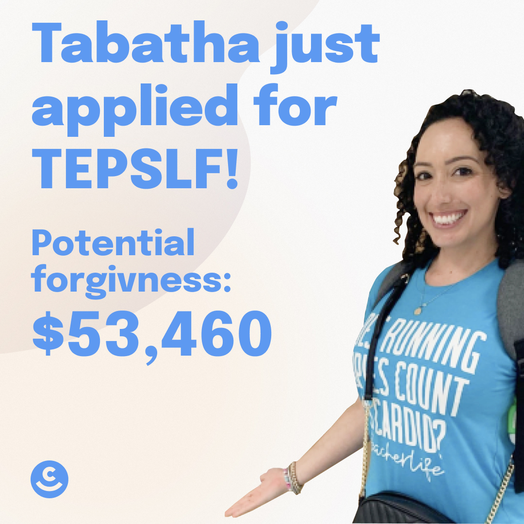 Tabatha just applied for TEPLSF Forgiveness amount: $53,460