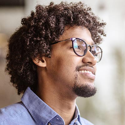 Man thinking about Bible credibility