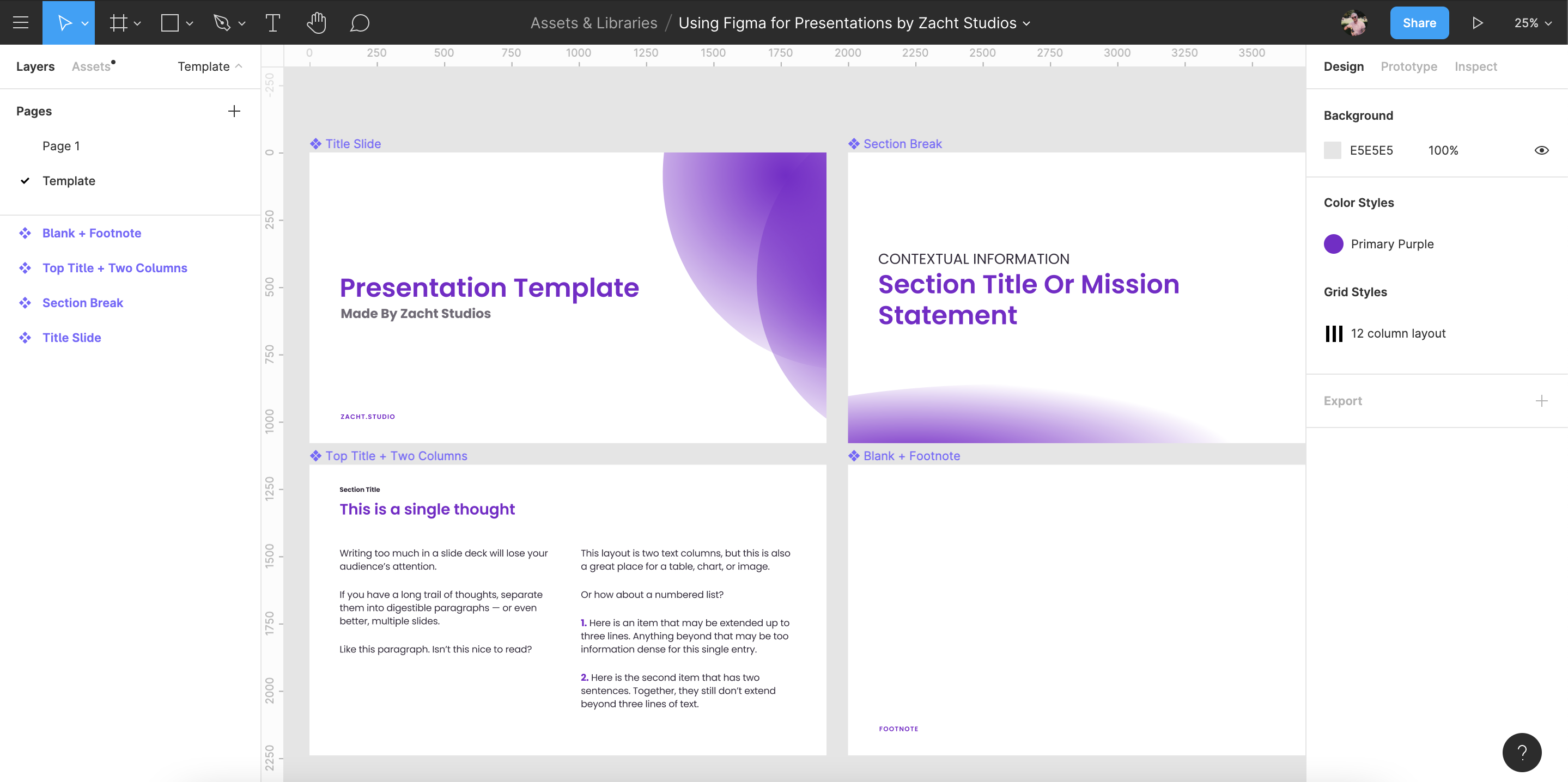 Using Figma for Presentations: 2021 Update