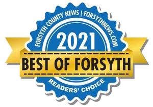 Best in Forsyth 2021 Business Badge