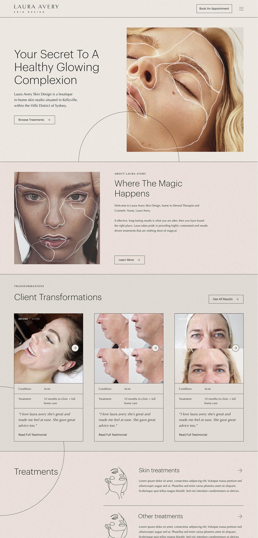 Laura Avery Skin Design