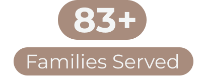 83+ Families Served