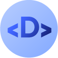 Devhaus Logo - Light Blue