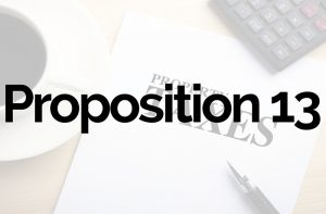 What is Proposition 13?