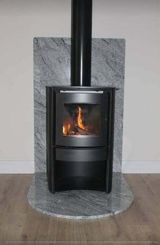 Viscount White Granite Fire Surround