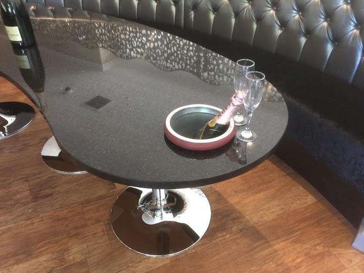 Star Galaxy Granite Champagne Table