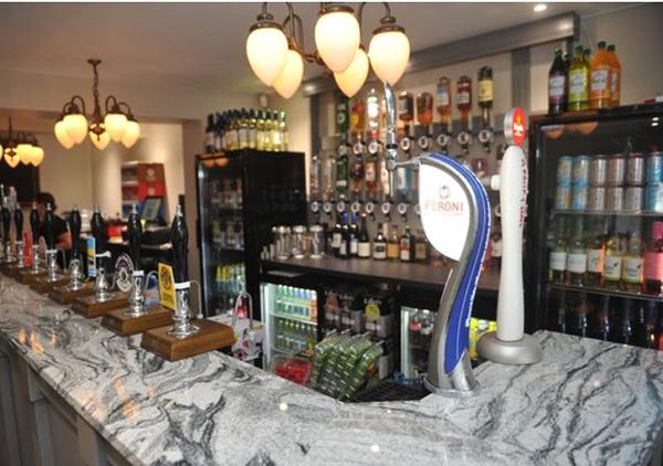 Viscount White Granite Bar