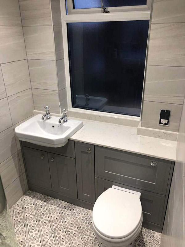 Carrara Quartz Bathroom Vanity