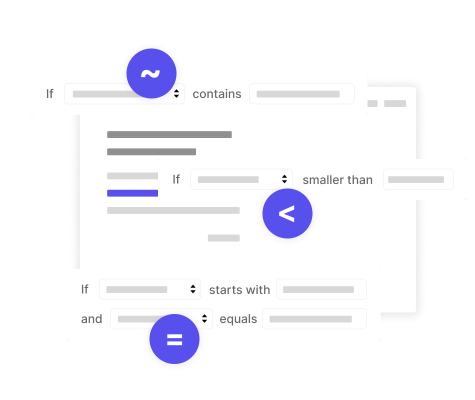 Search rules diagram