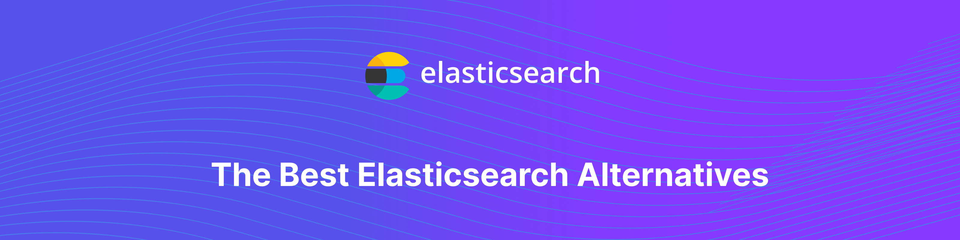 Elasticsearch alternatives banner