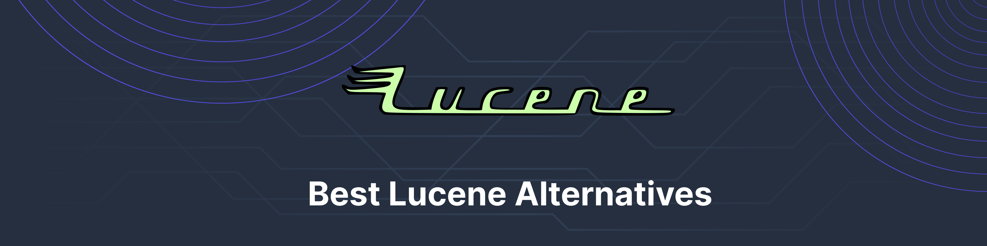 Apache Lucene alternatives banner